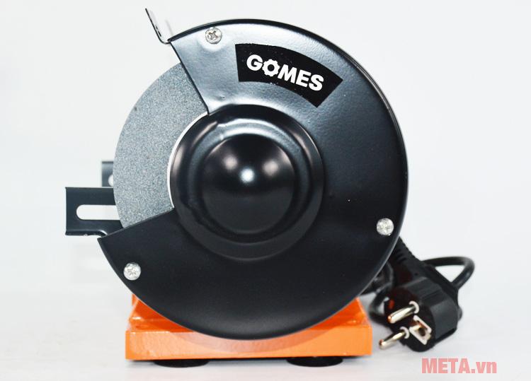 Máy mài hai đá Gomes GB180 dùng mài sắt, mài nhôm, mài thép