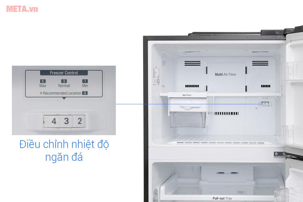 Điều chỉnh tủ lạnh