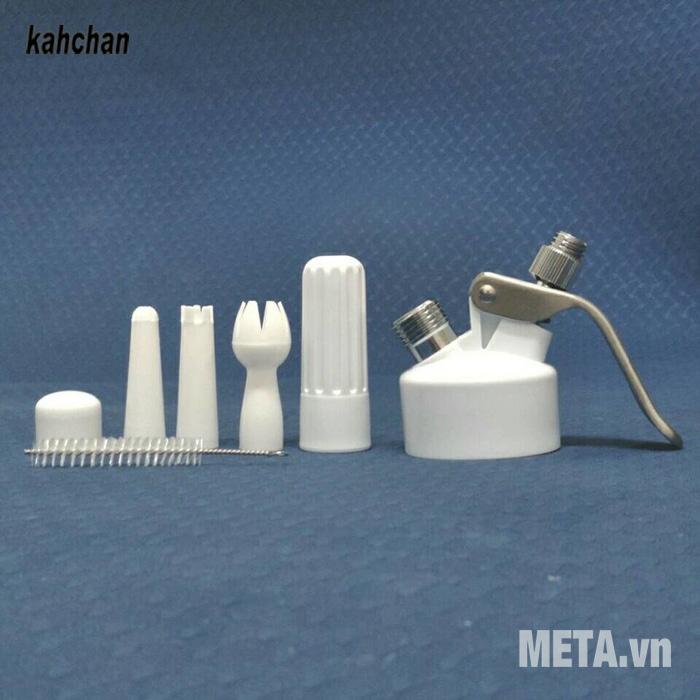 Phụ kiện của máy tạo kem tươi Kahchan EP5198 Phụ kiện của máy tạo kem tươi Kahchan EP5198