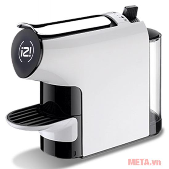 Máy pha cà phê màu trắng