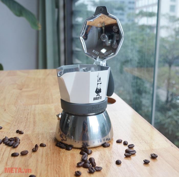 Ấm pha cà phê có nắp kín