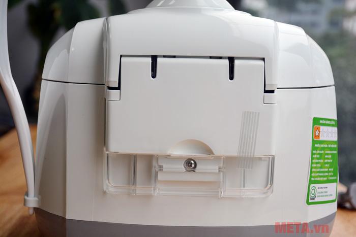 Khay đựng nước thải giúp nồi được giữ vệ sinh sạch sẽ