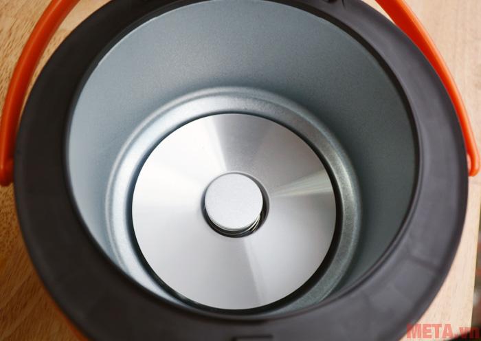 Mâm nhiệt giúp nấu cơm nhanh và ngon hơn