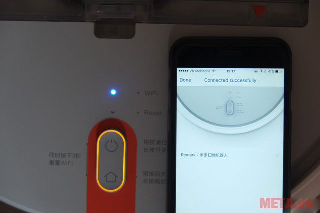 Kết nối robot với điện thoại