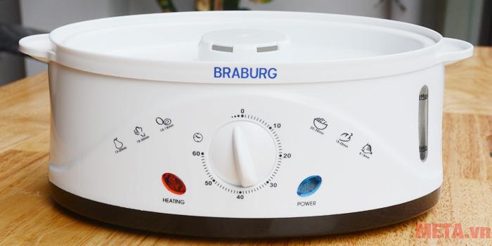 Núm vặn điều chỉnh mức độ hơi khi hấp thực phẩm
