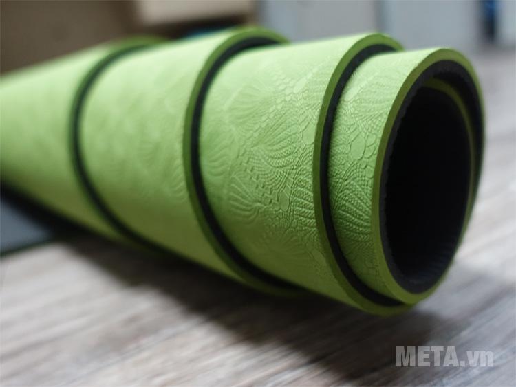 Thảm yoga Vinsa có độ dày 6 ly