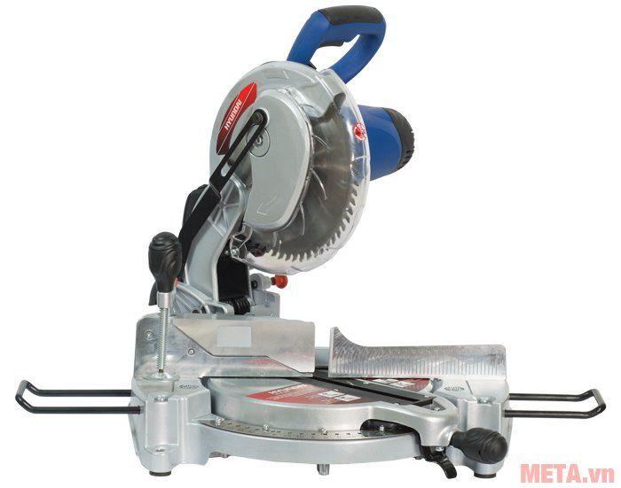 Máy cắt nhôm Hitachi HCA255 thiết kế lưỡi cắt dạng răng cưa sắc bén