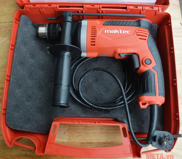 Máy khoan búa Maktec MT814KSP an toàn tuyệt đối khi sử dụng.