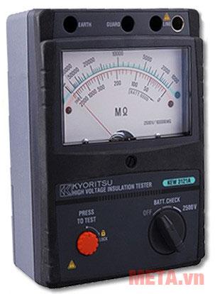Đồng hồ đo điện trở thiết kế nhỏ gọn