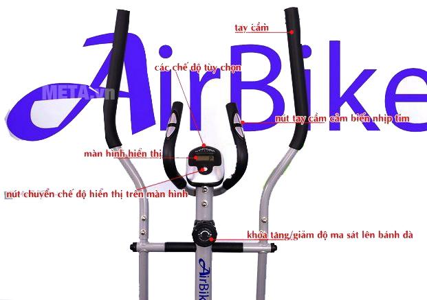 Hình ảnh xe đạp tập thể thao Air Bike AB-04