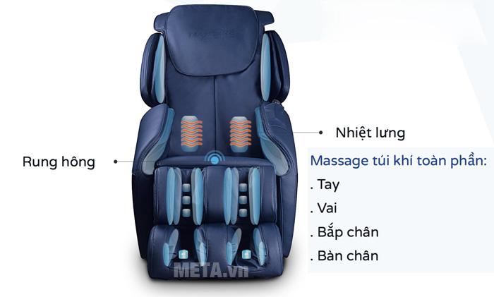 Ghế massage túi khí