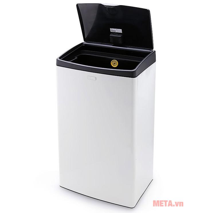 Thùng rác Fitis Mega có dung tích 40 lít