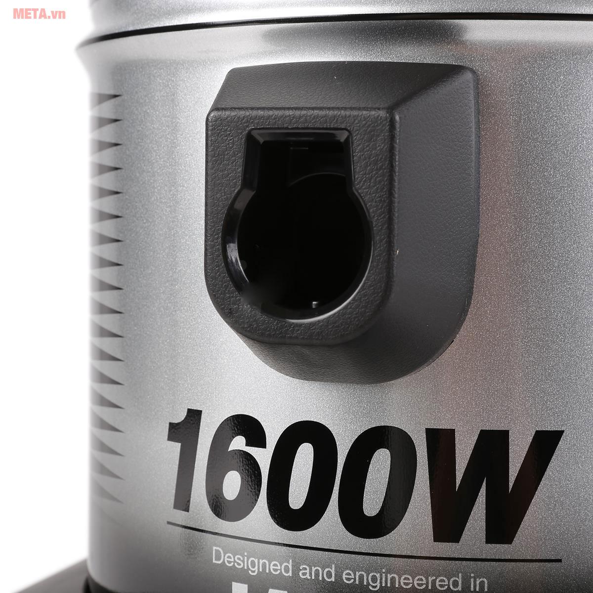 Máy có công suất 1.600W