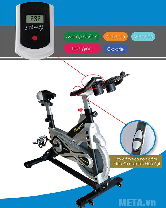 Xe đạp tập liên hoàn Mofit SP500 với tay cầm