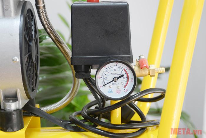 Đồng hồ của máy nén khí