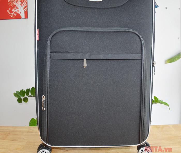 Vali 4 bánh xoay VLX012 24 inch có ngăn phụ để đồ tiện lợi