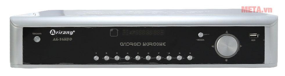Đầu karaoke Arirang DVD Android AK-36HDD