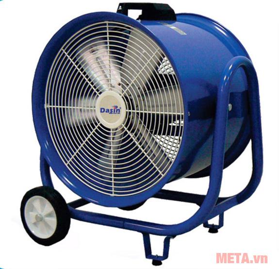 Quạt hút gió công nghiệp KIN - 500 với lưới bảo vệ tuyệt đối an toàn