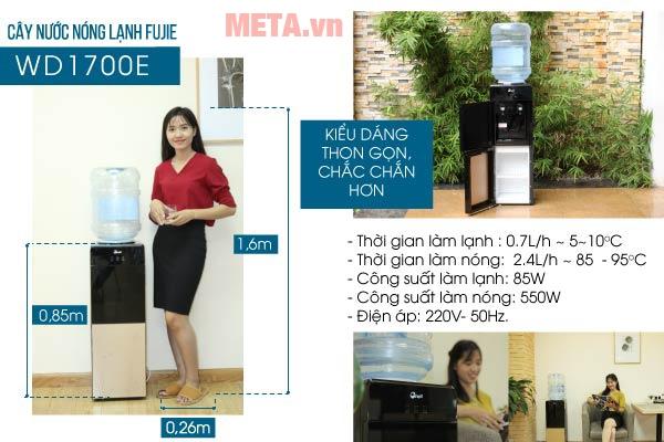 Cây nước nóng lạnh dùng điện