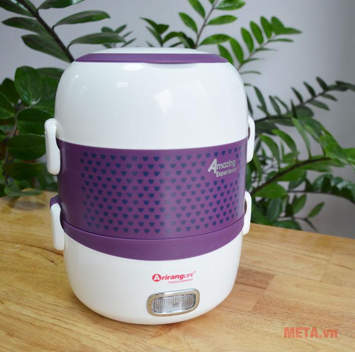 Hộp cơm hâm nóng ArirangLIFE EL - ALS263 giữ trọn vẹn độ tươi ngon của thực phẩm.