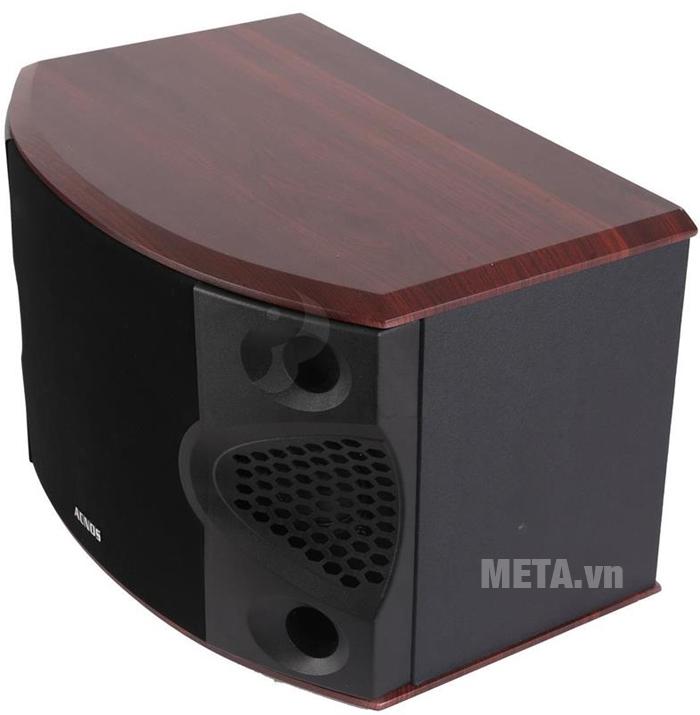 Loa karaoke thùng gỗ