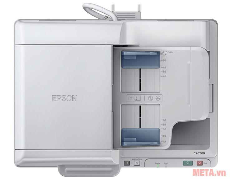 Máy scan DS-7500 có khả năng kết nối với Internet