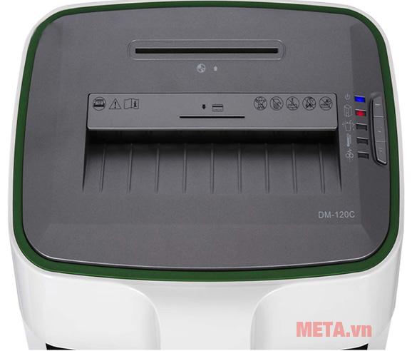 Bảng điều khiển máy hủy tài liệu Magitech DM-120M