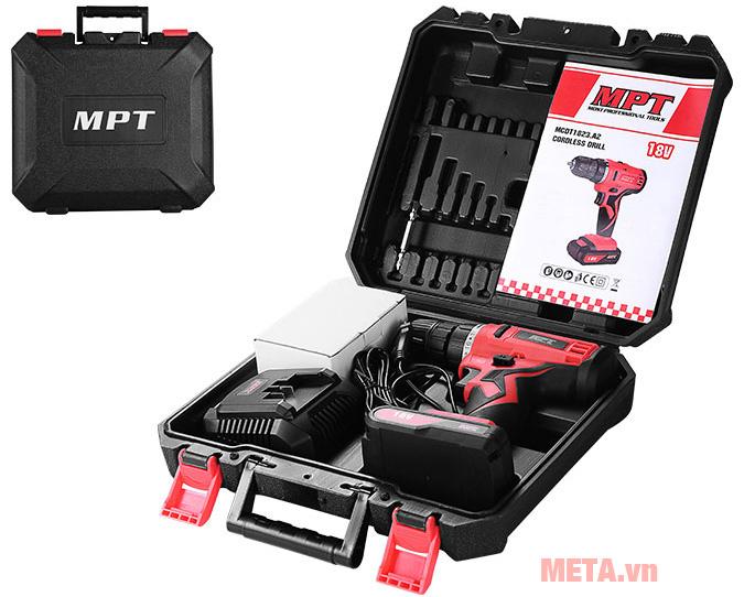 Bộ sản phẩm máy khoan MPT - MCDT1423.A2