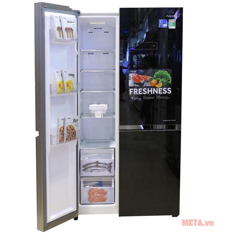 Dung tích tủ lạnh