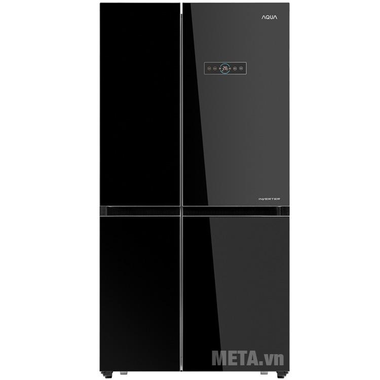 Hình ảnh tủ lạnh 2 cánh Aqua AQR-IG585AS