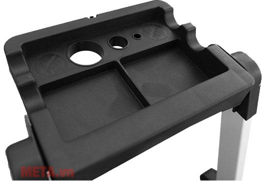 Thang ghế 3 bậc Nikawa NKP-03 thiết kế chắc chắn giúp an toàn khi sử dụng.