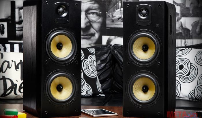 Loa Koloss có khả năng tái tạo âm thanh mạnh mẽ