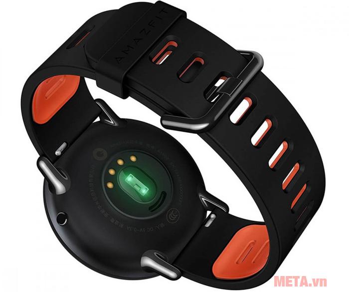 Mặt dưới của đồng hồ Xiaomi Amazfit Pace UYG4013RT (Black)