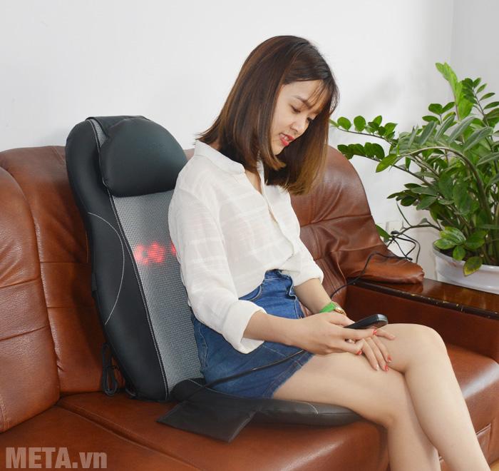 Đệm massage ô tô