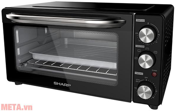 Hình ảnh lò nướng điện 18 lít Sharp EO-B18V-BK