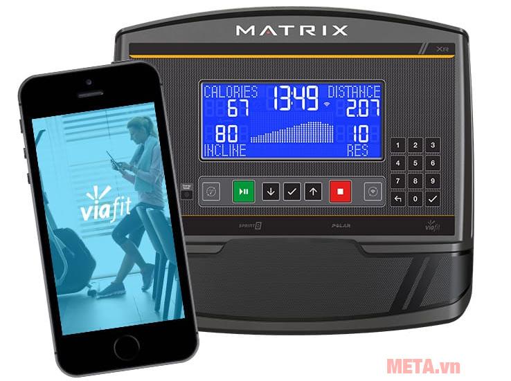 Matrix A50 XR kết nối với ứng dụng ViewFit