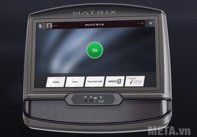 Màn hình của xe đạp tập Matrix R50 XIR