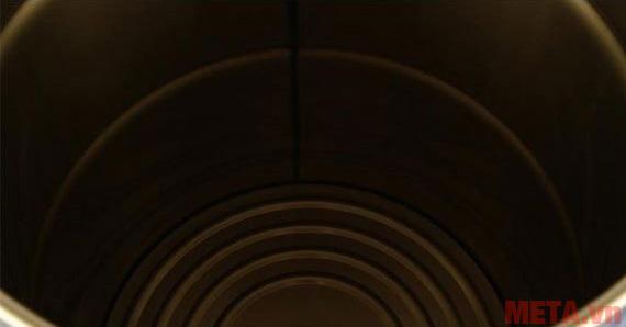 Thùng chứa bụi có dung tích lớn lên đến 21 lít