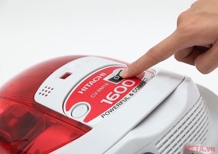 Công tắc ON/OFF của máy hút bụi Hitachi