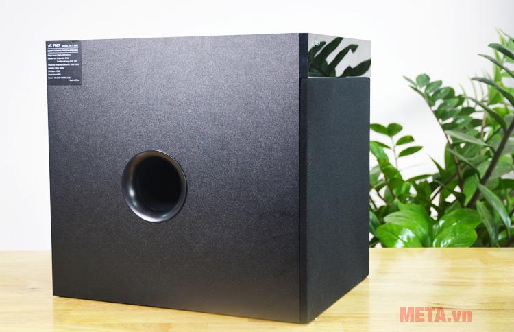 Loa siêu trầm Fenda T-360X có màu đen sang trọng
