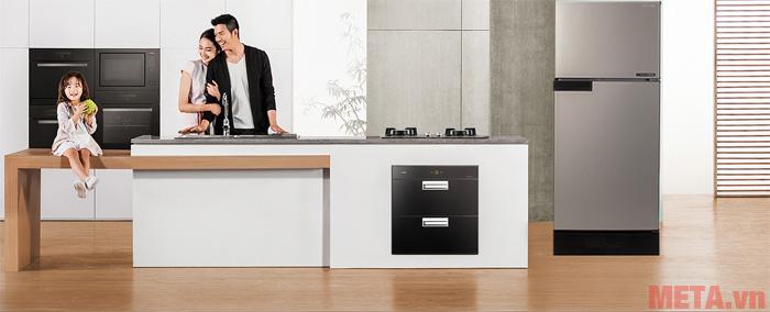 Tủ lạnh Sharp SJ-X196E-CS phù hợp với mọi không gian