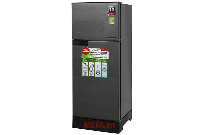Hình ảnh tủ lạnh 2 cánh Inverter Sharp SJ-X196E-DSS