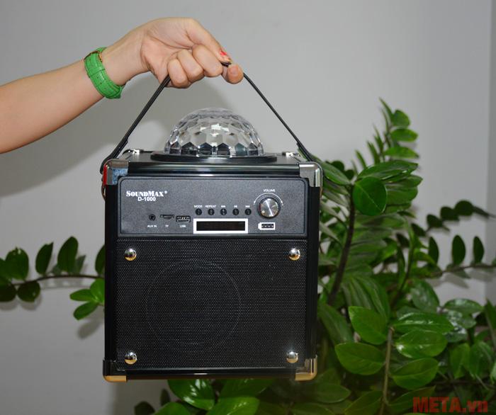 SoundMax D-1000 có thiết kế nhỏ gọn