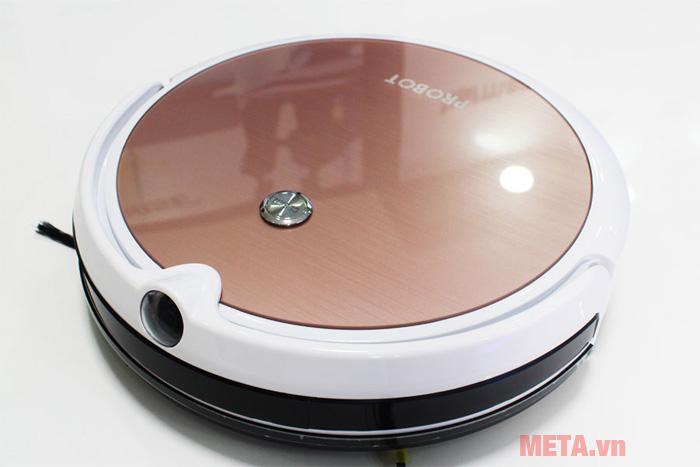 Robot hút bụi lau nhà tích hợp Wifi HD Probot Nelson A3S camera màu hồng
