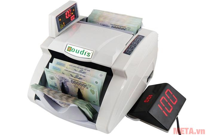 Oudis OD-8899A có tốc độ đếm 1220  tờ/phút
