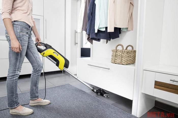 Máy sẽ giúp bạn làm sạch hiệu quả mọi bề mặt