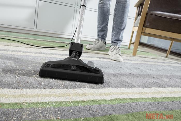 Đầu hút bụi có khả năng hút sạch bụi bề mặt thảm