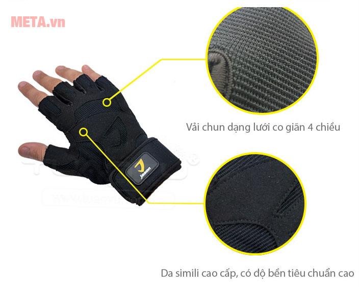 Thiết kế của găng tay tập Gym