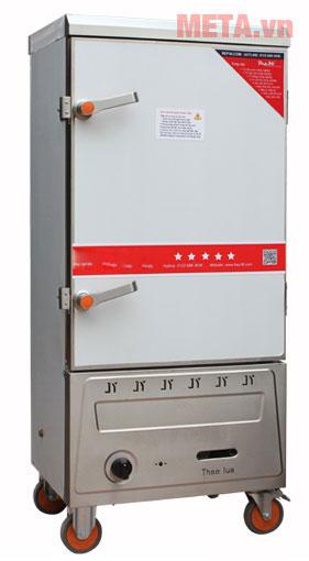 Tủ nấu cơm công nghiệp 10 khay dùng Gas TCG-10