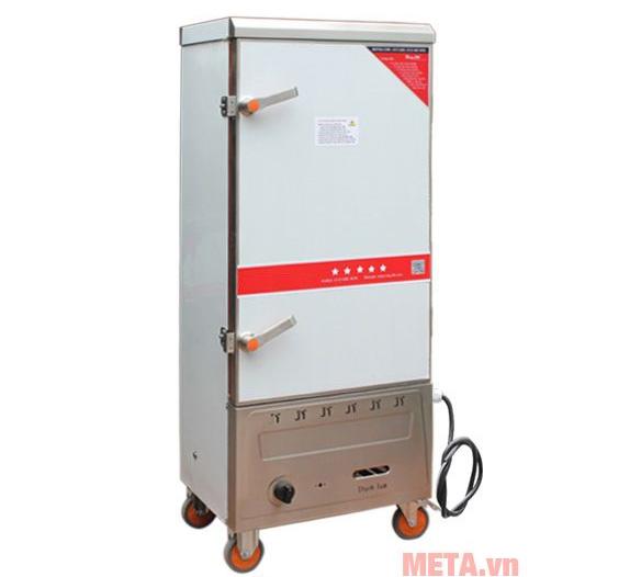 Hình ảnh tủ nấu cơm công nghiệp 12 khay Gas và Điện TCDG-12